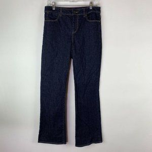 Tommy Hilfiger Womens Jeans Size 10/30 Dark Wash Mid Rise Boot Cut